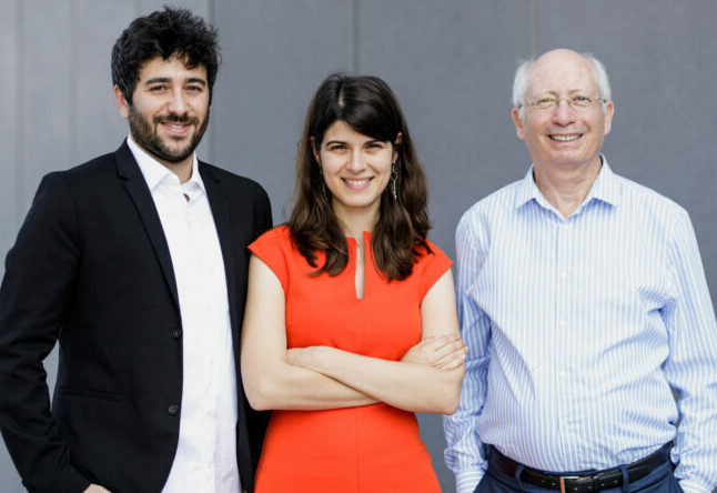 Yonatan Amir, Kira Radinsky, and Moshe Shoham. Mr. Shoham, pictured at right, is a co-founder of Diagnostic Robotics, and a member of IIFG's Board of Advisors.