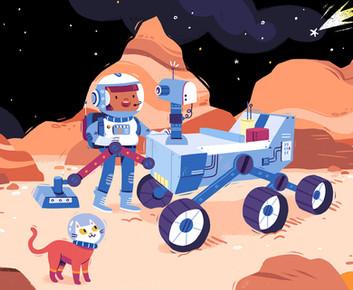 Space Adventure_Mars Rover