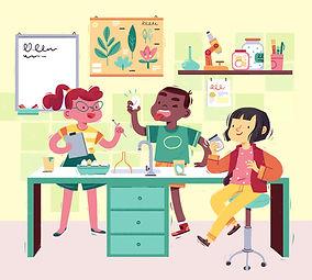 science-lab-children-illustration-susann