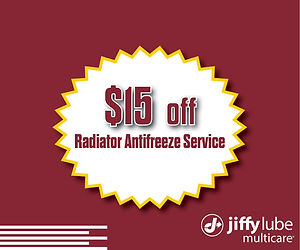 2020 $15 Off Radiator Antifreeze Service
