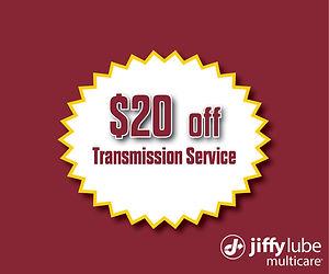 2020 $20 Off Transmission Service Websit