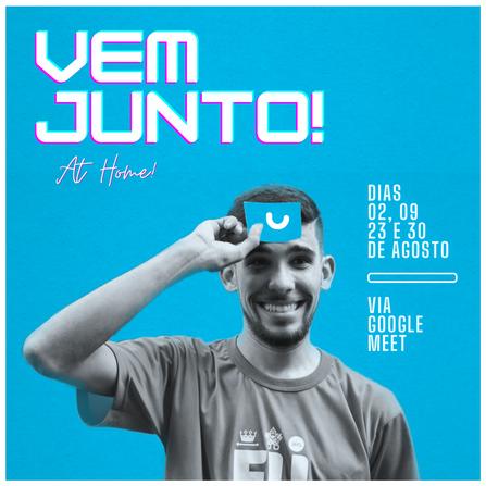 Hey, VEM JUNTO! at home