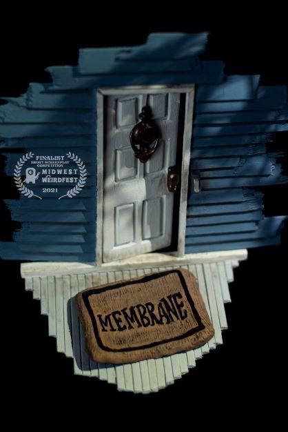 membrane short film, indie film, indie film poster, membrane film, kim pedersen, david pedersen, membrane
