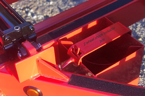 Wheel Chock Lockable Box (2 chocks)