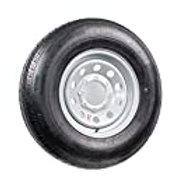 16 Inch 8 on 6.5 S Silver Mod Trailer Wheel