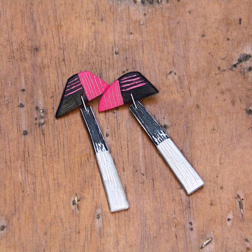 #009 Pop Pink Earrings