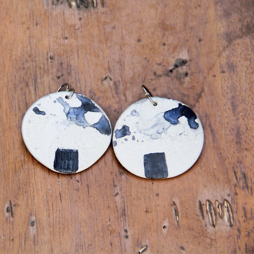 #013 Desert Sea Earrings