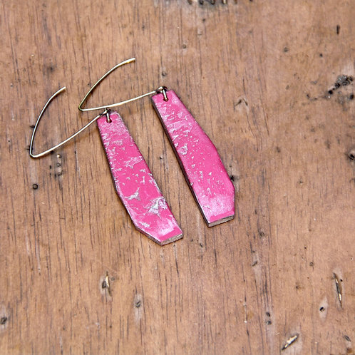 #005 Pop Pink Earrings