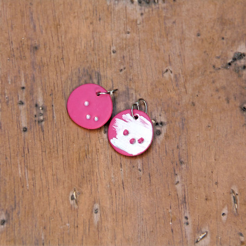 #006 Pop Pink Earrings
