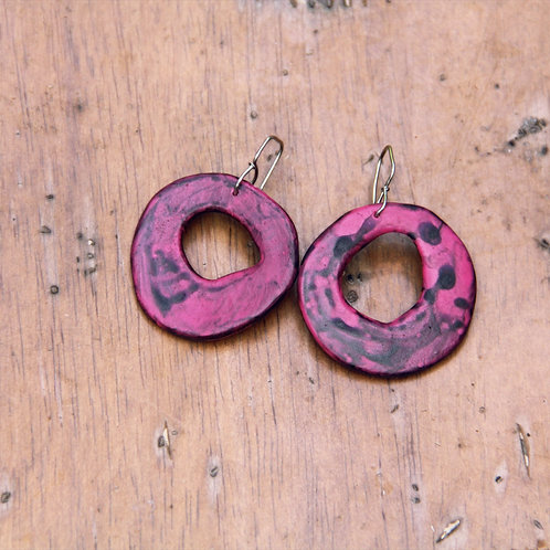 #007 Pop Pink Earrings