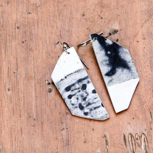 #001 Desert Sea Earrings