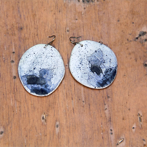 #003 Desert Sea Earrings