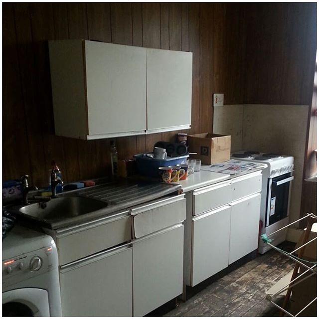 Old kitchen, renovations