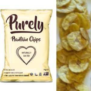 Purely, Naturally Salted Plantain Chips