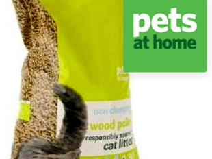 Week 3 - Review: Pets At Home wood pellet non clumping cat litter