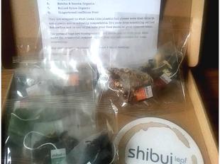 Review: Shibui loose leaf tea pyramids