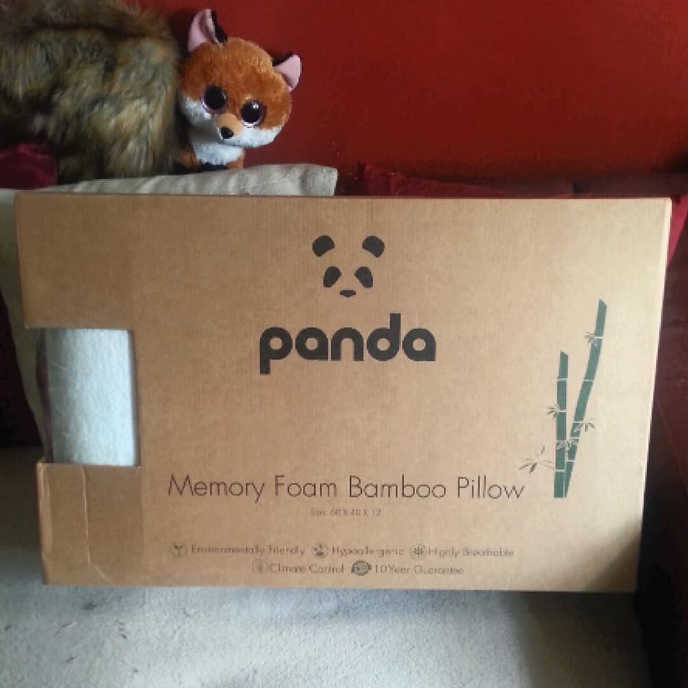 Panda Life Luxury Memory Foam Bamboo Pillow