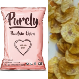 Purely, Nice and Spicy Plantain Chips