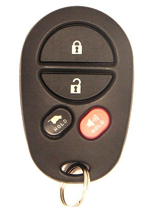 Toyota Keyless Entry Key Fob 4/B GQ43VT20T (Hatch)