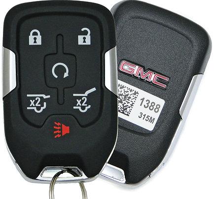 GMC Smart Keyless Entry Key Fob 6/B HYQ1AA