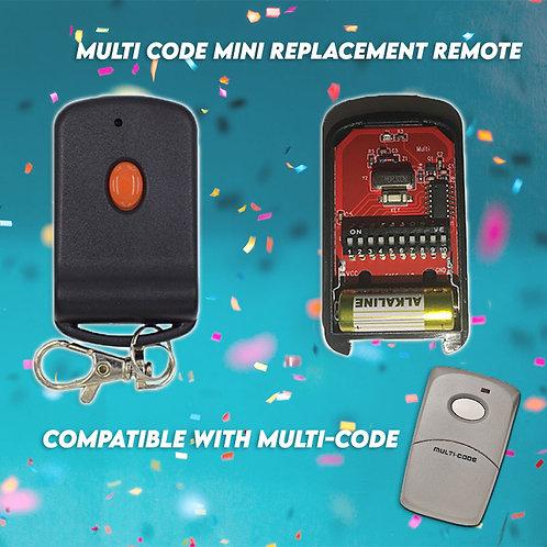 10 Digit Mini Gate Remote Control