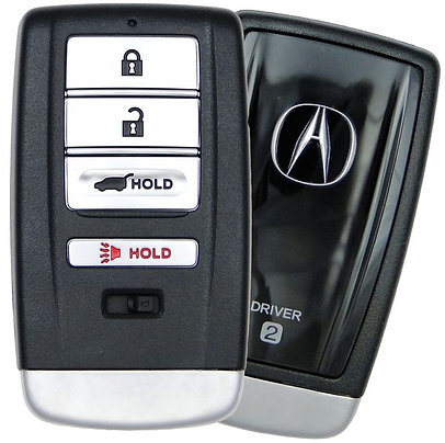 Acura Smart Keyless Entry Remote Key w/Hatch