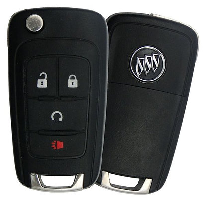 Keyless Entry Flip Key W/Remote Start
