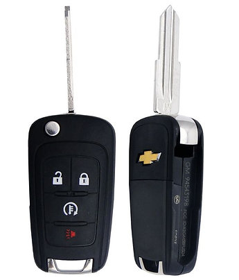 Spark Keyless Entry Flip Remote Key 4/B (EV)