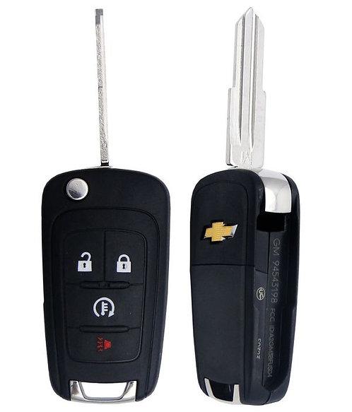 Spark Keyless Entry Flip Remote Key 4/B (EV)