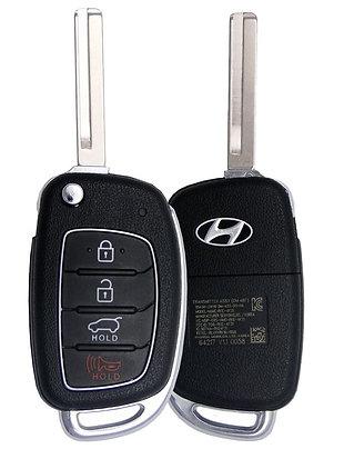 Hyundai Keyless Entry Flip Key 4/B (TQ8RKE4F25)