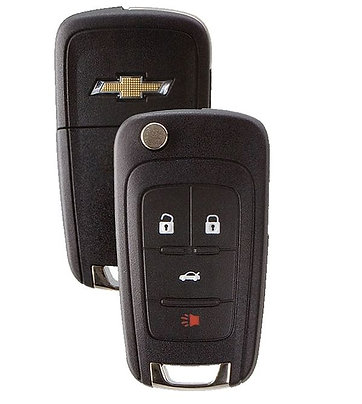 Keyless Entry Flip Remote Key 4/B