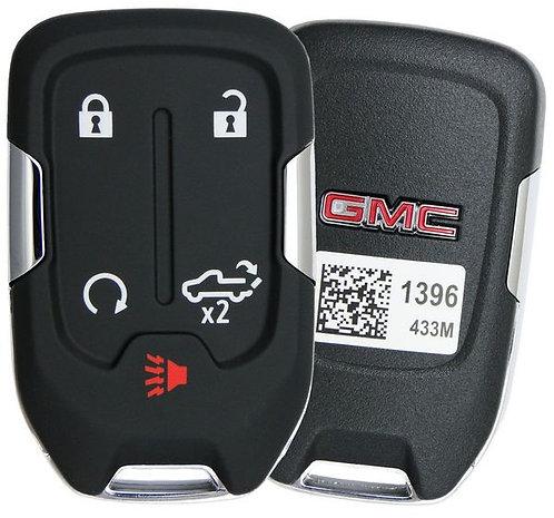 GMC Smart Keyless Entry Key Fob 4/B ( Engine Start/Liftgate)