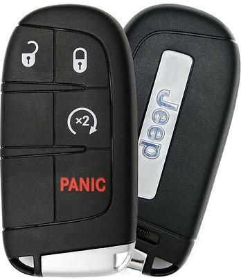Jeep Smart Keyless Entry 4/B w/Remote Start