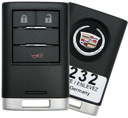 Cadillac Smart Keyless Entry Remote 3/B