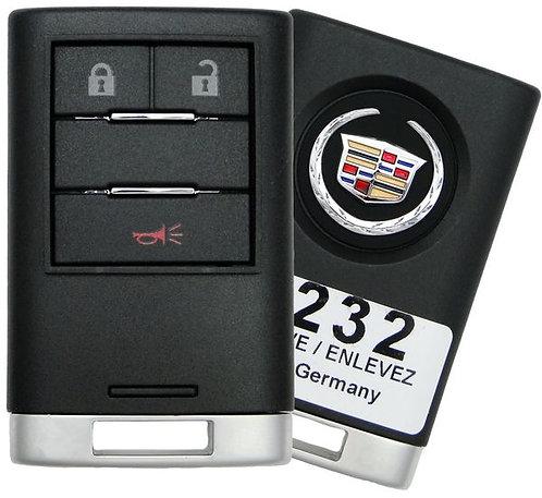 Cadillac Smart Keyless Entry Remote 3/B