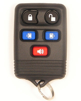 Keyless Entry Key Fob 5/B CWTWB1U511 w/Power Doors