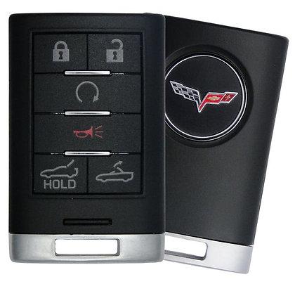 Corvette Keyless Entry Key Fob 4/B (Drop Top & Trunk)