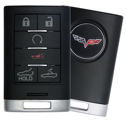 Corvette Keyless Entry Key Fob 4/B (Drop Top & Trunk)