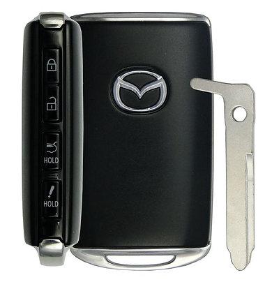 Mazda Smart Keyless Entry Remote 4/B WAZSKE13D03 w/Hatch