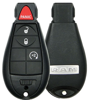 Dodge RAM Keyless Entry Remote 4/B GQ4-53T