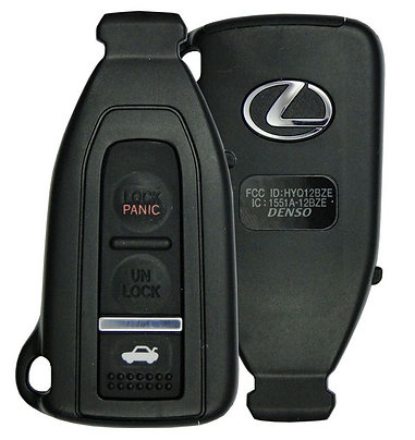 Lexus Smart Keyless Entry Remote 4/B HYQ12BZE