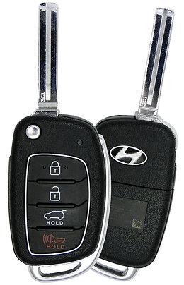 Hyundai Keyless Entry Flip Key 4/B (TQ8-RKE-4F25)