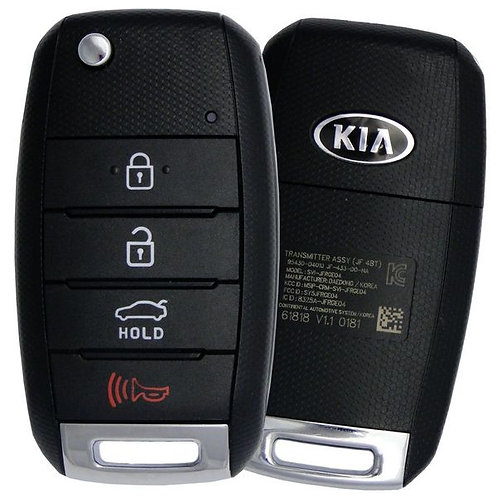KIA Keyless Entry Flip Remote & Key 4/B SY5JFRGE04