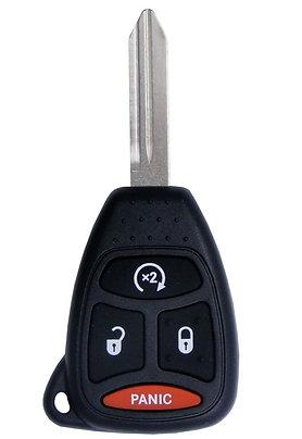 Remote & Key w/Remote Start OHT692713AA