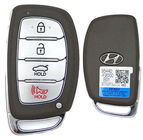 Smart Keyless Entry Fob 4/B CQOFD001201 (434 MHZ)