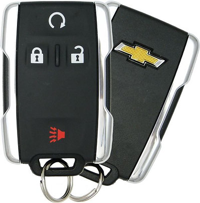 Keyless Entry Key Fob 4/B (Chrome)