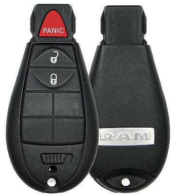 Dodge RAM Fobik Keyless Entry Remote 3/B GQ4-53T
