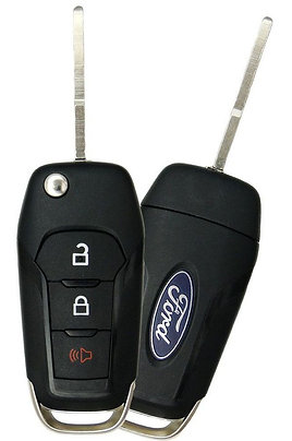Flip Keyless Entry Remote & Key 3/B N5F-A08TAA
