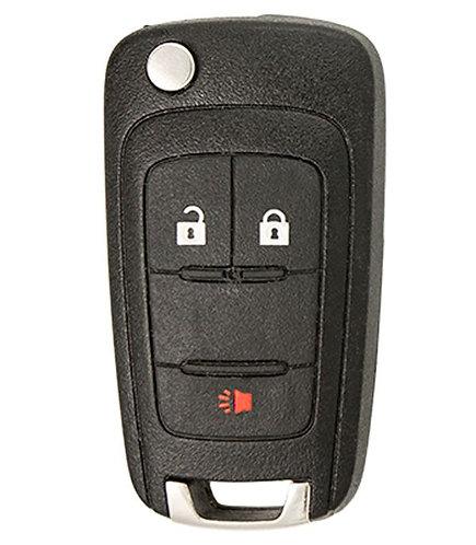 Keyless Entry Flip Remote Key 3/B (OHT01060512)