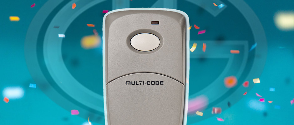 Original Multi-Code Gate Remote Control
